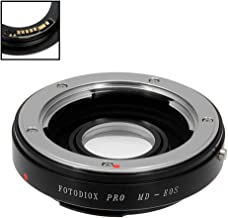 Fotodiox Pro Lens Mount Adapter Compatible with Minolta Rokkor (SR/MD/MC) SLR Lens to Canon EOS (EF, EF-S) Mount D/SLR Camera Body - with Gen10 Focus Confirmation Chip