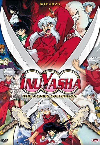 Inuyasha - The Movies Collection Box (5 Dvd) by Kyoto Animation