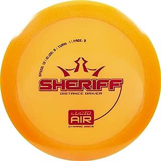 sheriff dynamic discs