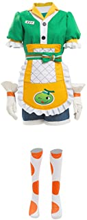 COSMOVIE Womens OW Cosplay Halloween Costumes Mei Honeydew Skin Dress Up Outfit