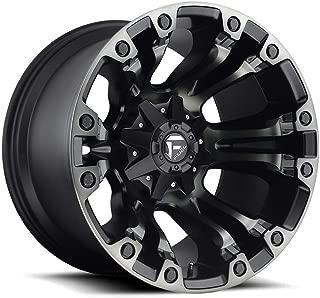 Fuel D569 Vapor 17x9 5x114.3/5x127 -12mm Black/Machined Wheel Rim