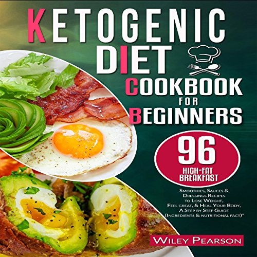Ketogenic Diet Cookbook for Beginners audiobook cover art