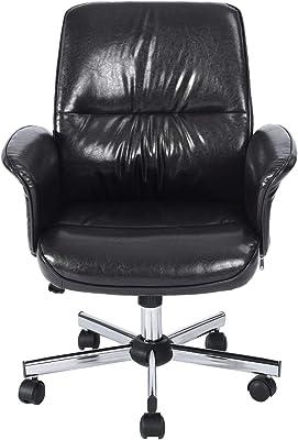 Amazon Com Staples 923523 Osgood Bonded Leather High Back