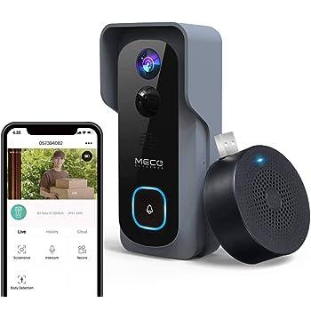 For WiFi Wireless Door Bell Camera Video Indoor of Chime Doorbell Ring UK Y2N6T