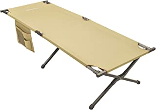 """KingCamp Camping Sleeping Cot Folding Bed 81"""" x 30"""" Extra Wide for Adults Heavy Duty Portable for Indoors & Outdoors Use"""