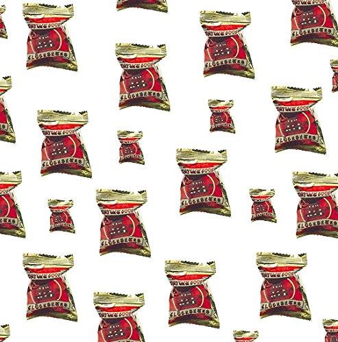 25 Glückskekse Fortune Cookies in Goldfolie einzeln Glückskeks China Rot Pamai Pai®