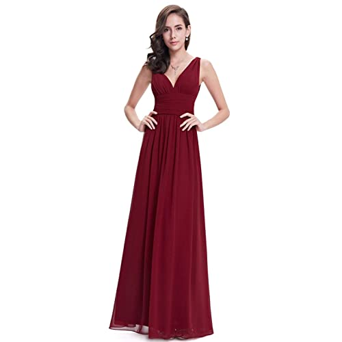 758b186a6932 Ever-Pretty Sleeveless V-Neck Semi-Formal Maxi Evening Dress 09016