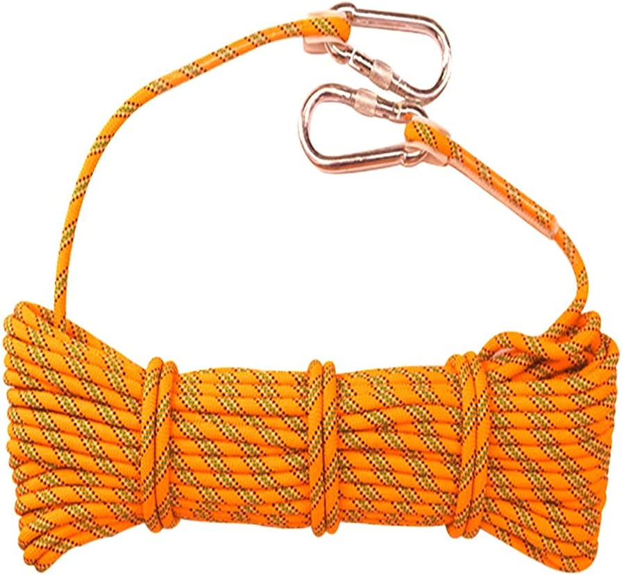 Mail order QHY Climbing Rope 18mm Award-winning store High Rock Safety Outdoor Static Strength