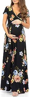 Maternity Short Sleeve Dress with Belt