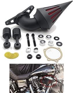 Kits de filtro de aire para Harley Low Rider Touring Road King Electra Softail negro