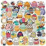 Bluelves Adesivi Pasqua, 200pcs Stickers Bambini per Pasquali, Adesivi Coniglio per Bambini Artigianato, Decorazione di Pasqua, Coniglio, Faccia di Coniglio, Uovo, Pulcini (200pcs)