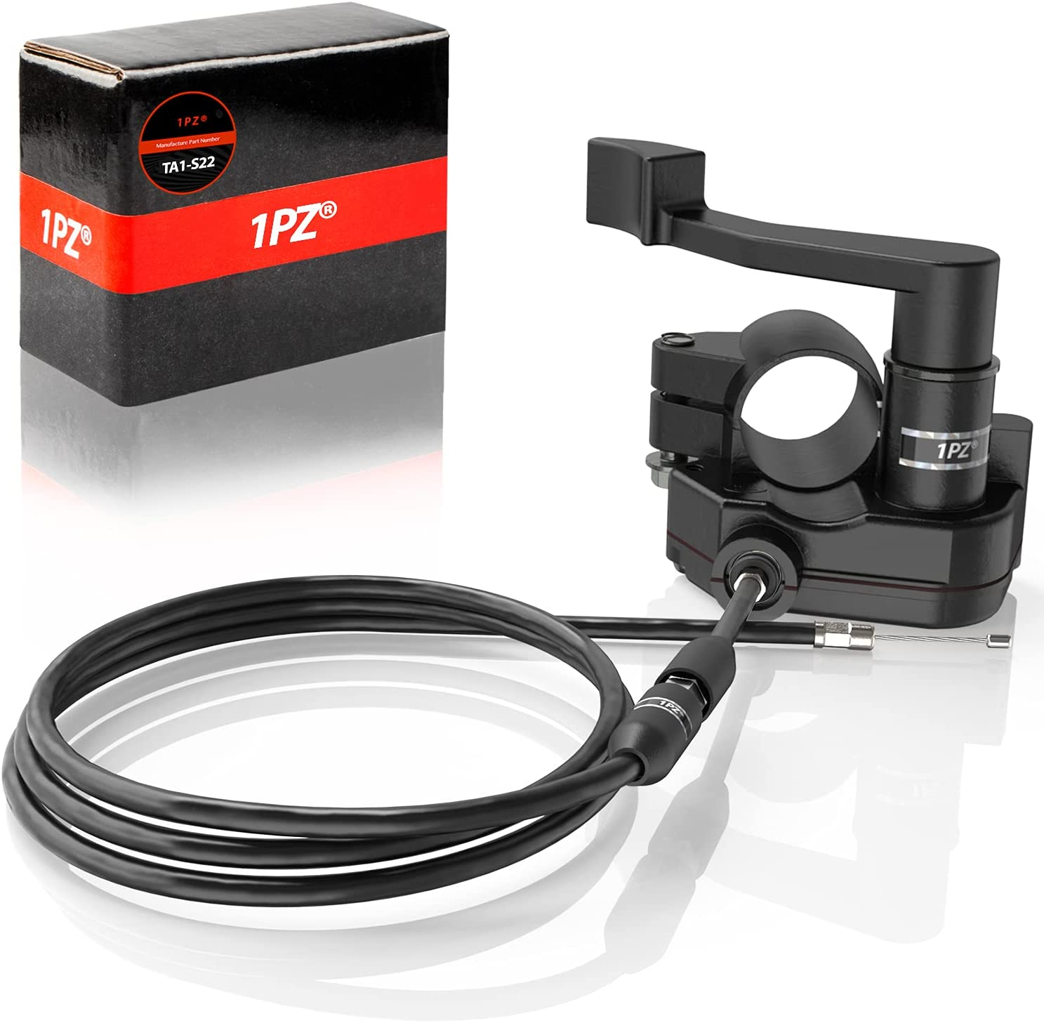 1PZ TA1-S22 Heavy Duty 7 8'' Discount is also underway Throttle Thumb Department store Accelerat 22mm Cable