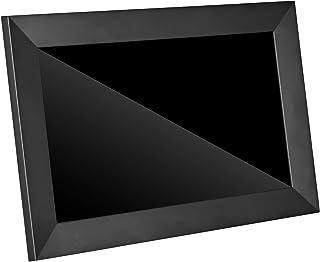 デジタルフォトフレーム 10インチタッチスクリーン WiFi対応 16GB内蔵メモリ 1280*800解像度 人感センサー 写真動画自動再生 SDカード対応 (ブラック)