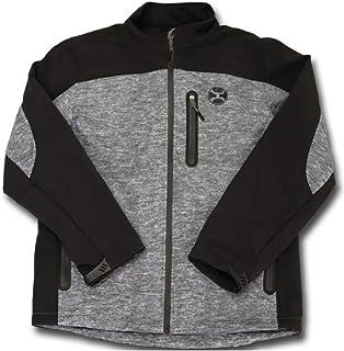 "HOOey ""All-Around Gray/Black Soft-Shell Jacket"