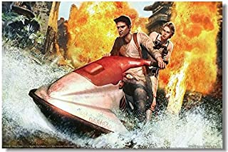 Lawrence Painting Uncharted 1 2 3 Drakes Deception Fortune Among Thieves Game Canvas Wall Poster Hd Big Posters And Prints Decor On The Walls 04