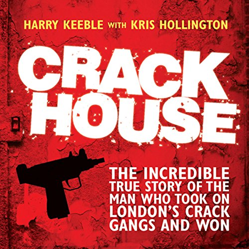 Crack House audiobook cover art