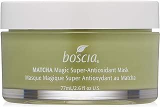 boscia MATCHA Magic Super-Antioxidant Mask – Detoxifying and Brightening Matcha Green Tea Facial Mask, 2.6 Fl Oz