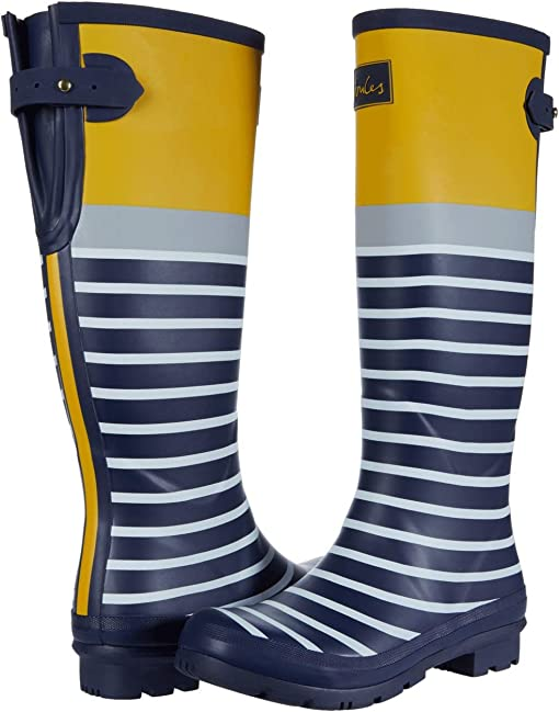 Navy English Stripe