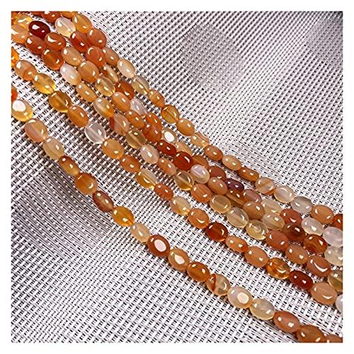 Joyas para mujeres Piedra natural Forma óvalo Perlas brillantes Crystal Semifinizó perlas sueltas para la fabricación de joyas BRICOLAJE Accesorios de pulsera de collar al menos comprar tres Collar de