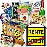Rente + DDR Korb mit Spezialitäten + Frauen im Ruhestand