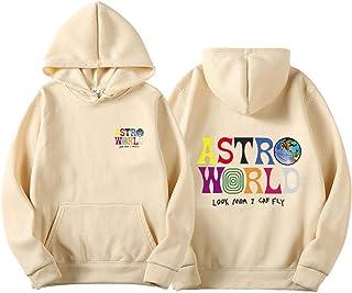 Vocha ASTROWORLD Sudadera con Capucha Mode Pullover Streetwear Hombre Mujer Sweatshirt