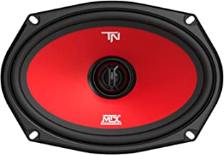 MTX Terminator69 60 Watt RMS 2 Way Polypropylene Coaxial Car Speakers, Pair photo