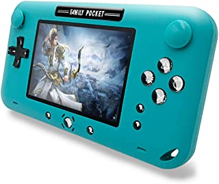 بازی های دستی EASEGMER برای کودکان و نوجوانان ، ساخته شده در 500 بازی ویدیویی FC Retro - بازی های ویدئویی قابل حمل 4 اینچ پشتیبانی از پخش کننده تلویزیون / خروجی AV