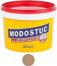 Originele Modostuc houtvuller 1 kg lichte walnoot gebruiksklare vulmassa voor hout en muur, houten plamuurmassa, perfecte ...