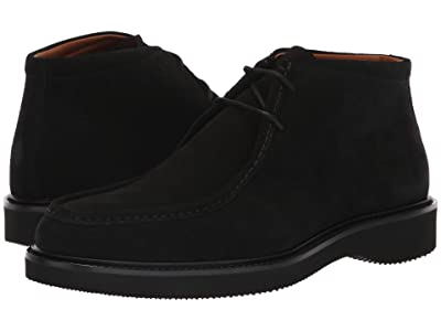 Aquatalia Kyle (Black Suede) Men