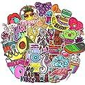 50-Pack QTL Waterproof Vinyl Aesthetic Stickers