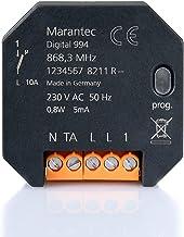 Marantec 160280 universele ontvanger, inbouw, 1-kanaals radio-ontvanger, uni-directioneel, grijs