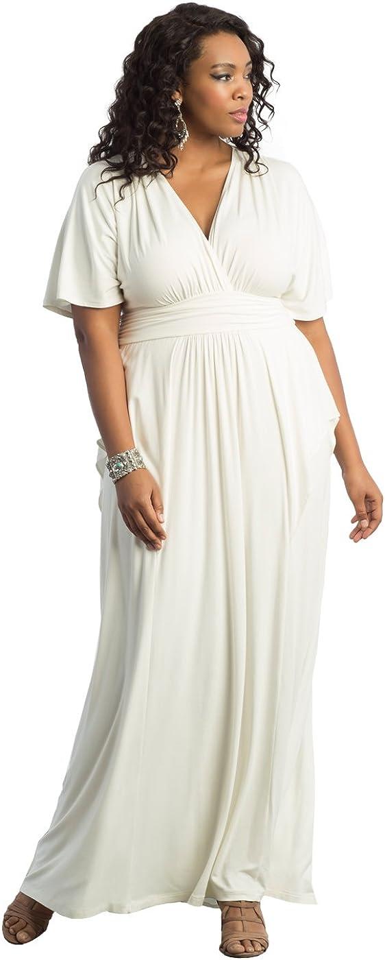 Kiyonna Women's Plus Size Indie Flair Maxi Dress
