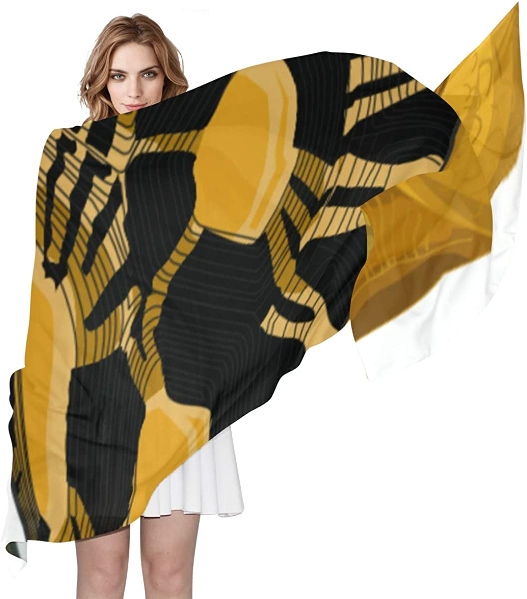Giant Turtles On Land Unique Fashion Scarf For Women Lightweight Fashion Fall Winter Print Scarves Shawl Wraps Gifts For Early Spring