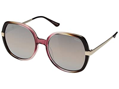 QUAY AUSTRALIA Chrissy X Quay Gold Dust (Toffee Pink/Brown) Fashion Sunglasses