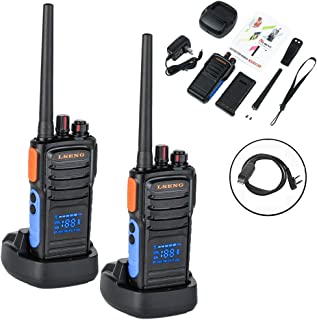Walkie Talkies Rechargeable Two Way Radio with Display LSENG T-328 2 Way Radio (Pack of 2)