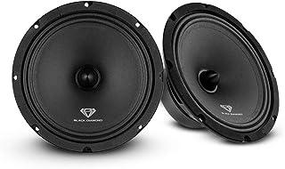 "$44 » Black Diamond DIA-CM8.4B 8"" Mid-Range Loudspeaker with Bullet - 8-Inch Midrange, 140 Watts Max, 70 Watts RMS, 4-Ohm, 1"" Vo..."