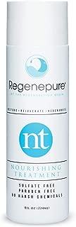 Regenepure NT (Nourishing Treatment) Hair Thickening Anti Hair Loss Shampoo, SLS and Paraben Free, 8 ounces