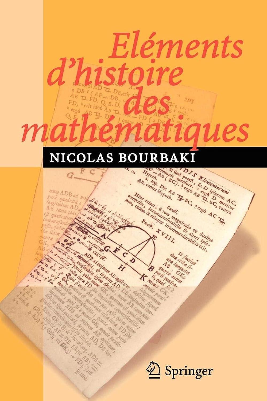 逆歯科医仕事Eléments d'histoire des mathématiques