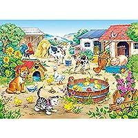 大人減圧パズル1500ピース木製パズル-入浴カモ-子供の教育パズル創造的な誕生日プレゼント