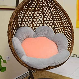 JHLD Hanging Egg Chair Cushion, Round Swing Seat Pads Hypoallergenic Chlorophytum Cushion for Garden Outdoor Indoor-120CM(47inch)-B