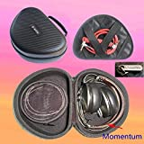 V-MOTA TDI Headphone Suitcase Carry case boxs for Sennheiser HD4.20S HD4.40 bt HD4.50PXC550 HD8 HD7 Dj HD6 Mix Urbanite XL Momentum Wireless Headset