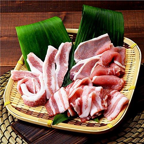 焼肉中村屋 国産豚3種盛り1kg