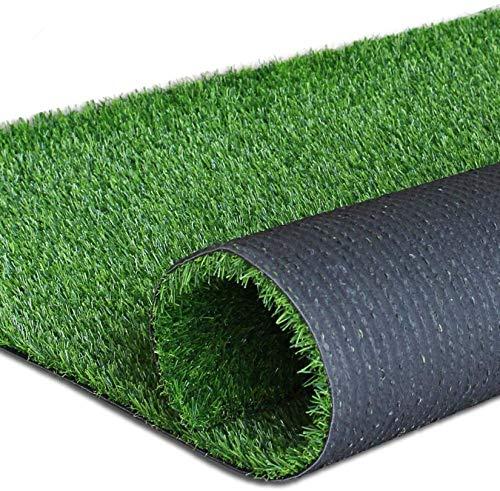 人工芝芝芝芝生 15 x 35フィート 0.7インチ 屋内 屋外 庭 芝生 風景 合成芝マット 人工芝 ラグ