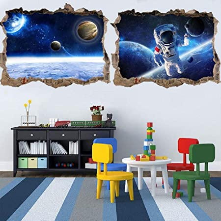 Universe spaceship Home Room Decor Removable Wall Sticker Decal Decoration