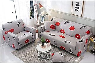 comprar comparacion ZIXING Fashion Funda de sofá Tejido Elástico Sofá Proteger Cubierta de Sofá Funda Decorativa 1/2/3 Plazas,Estampado de Mod...