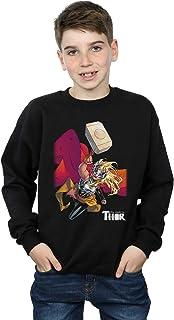 Marvel Niños The Mighty Thor Mjolnir Camisa De Entrenamiento