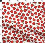 Erdbeere, Erdbeeren, Rot, Weiß, Liebe, Obst, Süß Stoffe