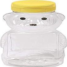 Garrafas de Urso Plástico Vazio Little Giant Farm & Ag HBEAR12, 340 g, Pacote com 12 - Amarelo