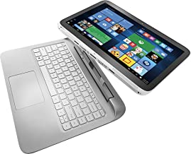 HP Split x2 13.3in Touchscreen 2-in-1 Ultrabook (Intel Core i3-4012Y, 4GB Memory, 500GB HDD + 8GB SSD, Windows 8.1) (Renewed)