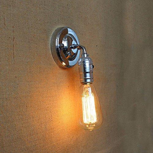 SADASD Un solo cabezal mini Lámpara de Pared, interruptor pulsador, Tungsteno cama cama dormitorio simple y moderno estilo europeo creativa Salón Escalera Pasillo Lampara de pared,: Amazon.es: Iluminación